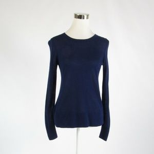 Ann Taylor blue crewneck sweater S
